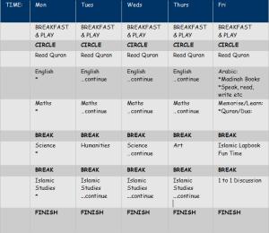 timetablesample