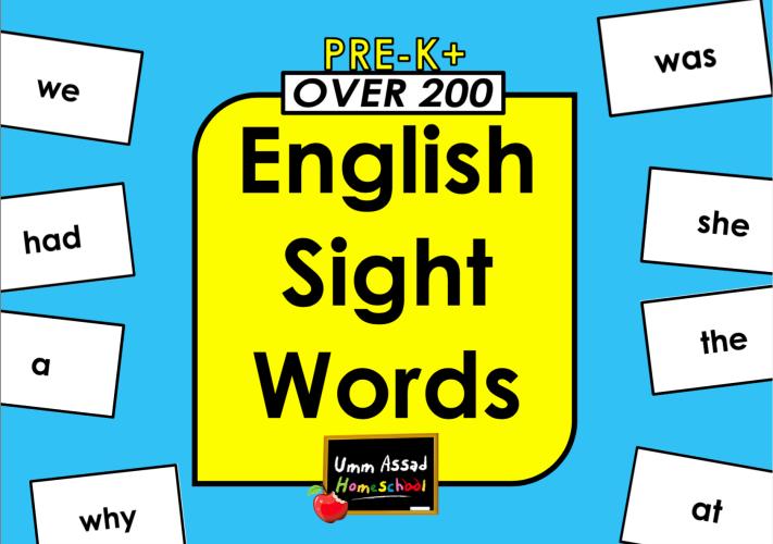 200englishsightwords